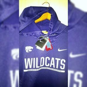 Nike Kansas State Wildcats Jersey Hoodie Men's 3XL
